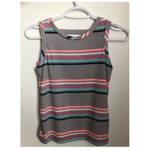 girls old navy tank top with stripes